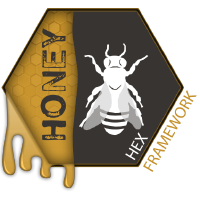 Honey Hex Framework Logo